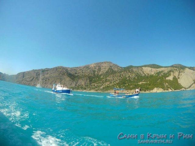 Выход в море из Балаклавы