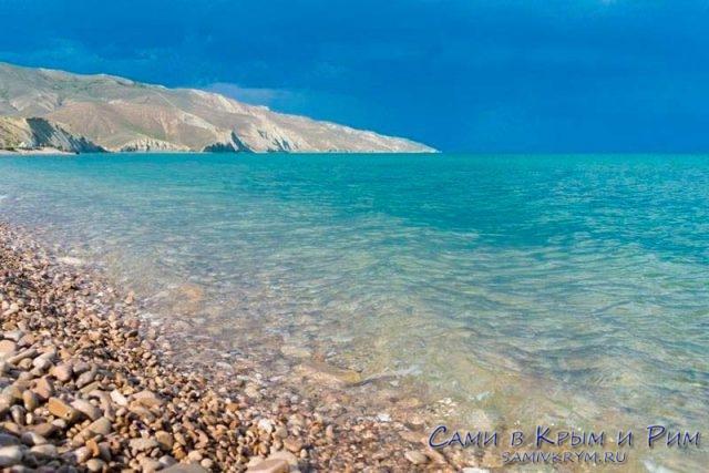 Пляжи-феодосии