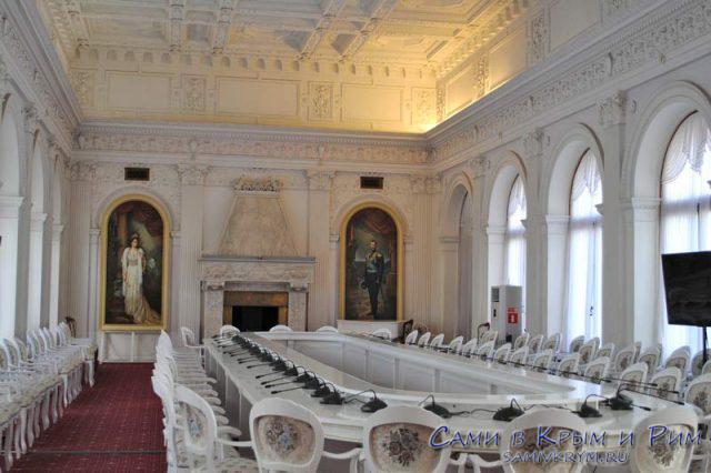 Столовая в Ливадийском дворце