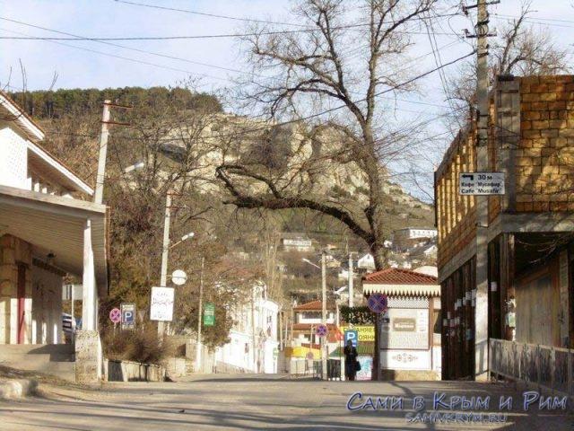 Бахчисарай-улицы