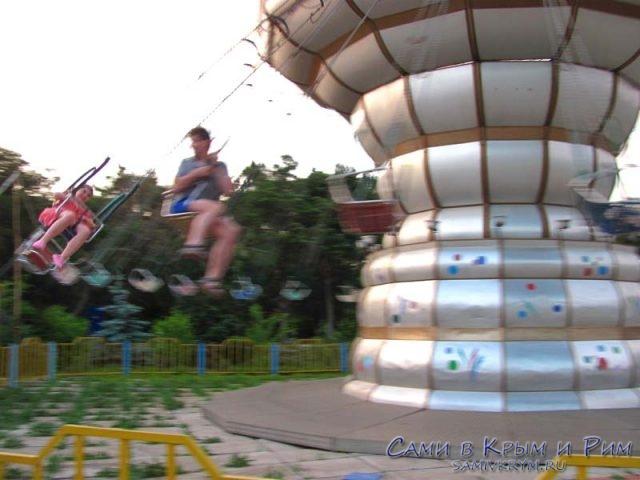 карусели-в-парке