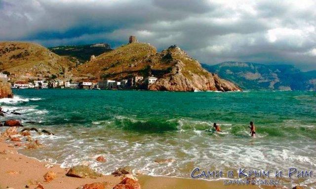 Пляж-Васили