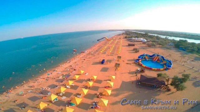 Пляжи-Азовского-моря