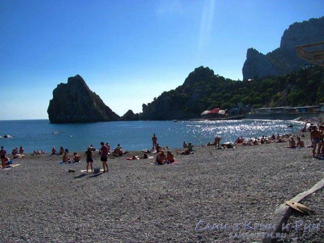 пляж-в-Симеизе