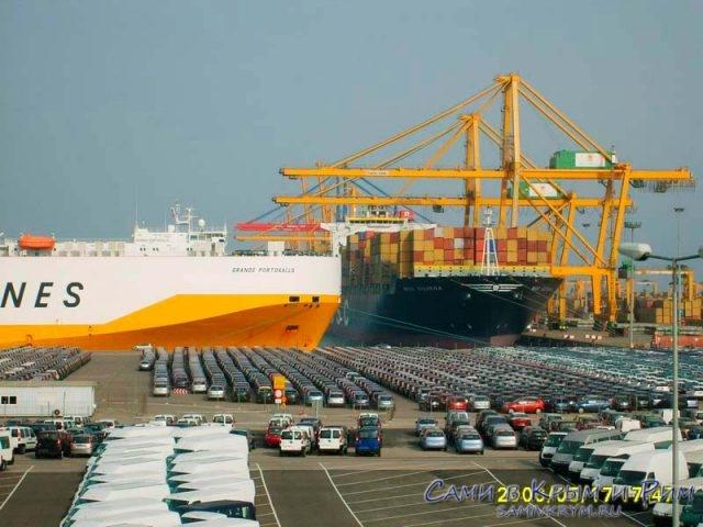 порт-в-Валенсии
