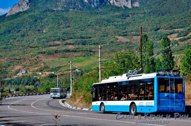 троллейбус-в-Крыму
