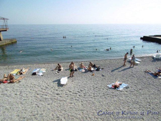 Галечный-пляж-санатория-Днепр