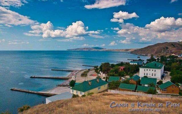 Крымские-пейзажи-Курортное