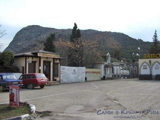 Парковка-перед-заводом-в-Новом-Свете