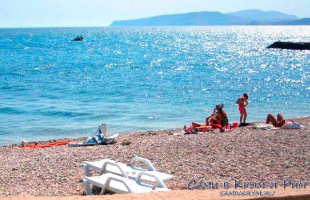Пустой-пляж-в-Курортном
