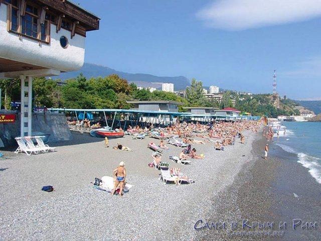 Пляж-санатория-Крым