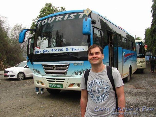 Туричстические-автобусы-Непала