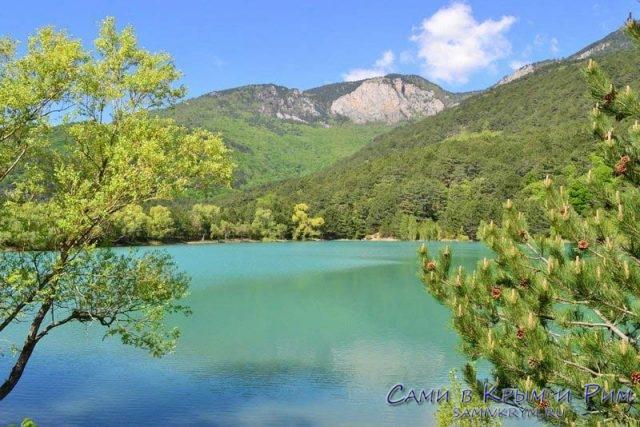 Запрудное-Бирюзовое-озеро