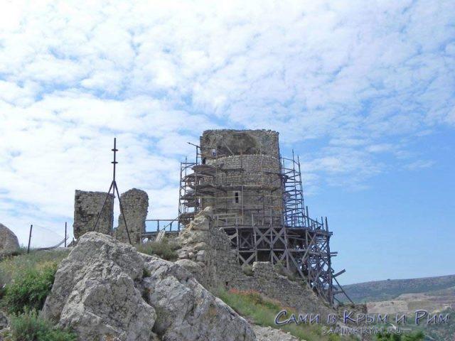 Генуэзская_крепость_Чембала