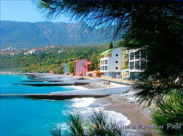 Пляжи_Артека