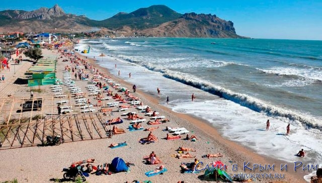 Пляжи_Коктебеля