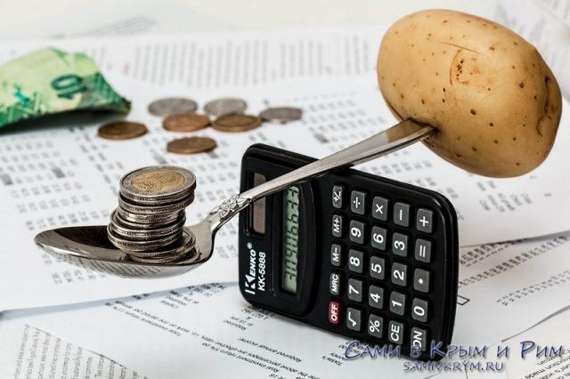 Калькуляция расходов