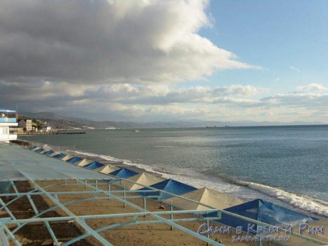 Пляжи-Алушты
