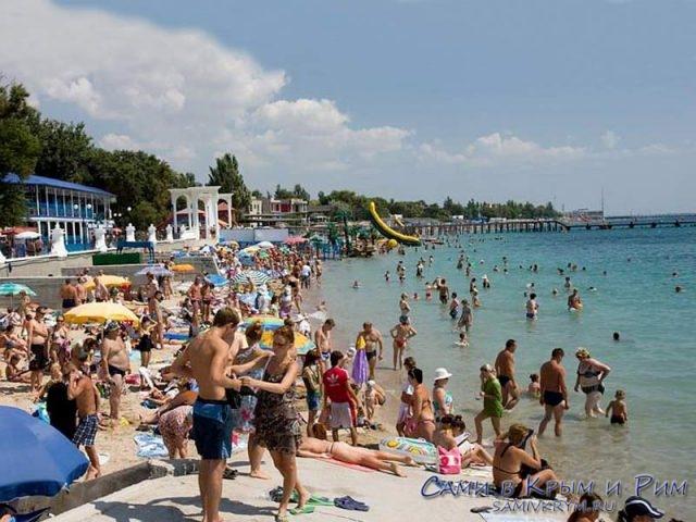 Пляжи-Евпатории