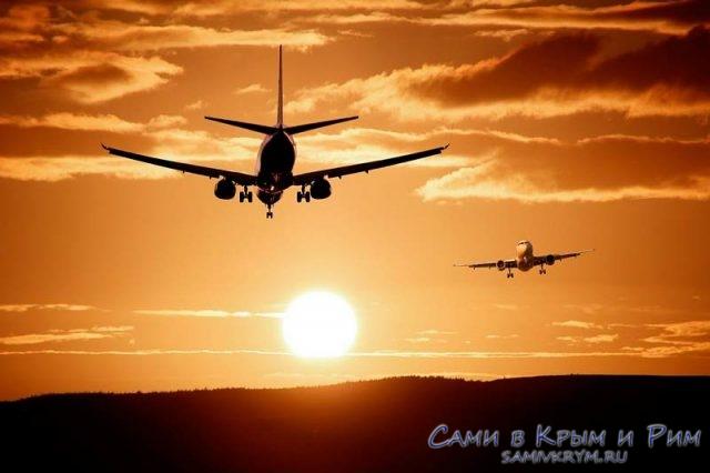 Самолеты-в-небе
