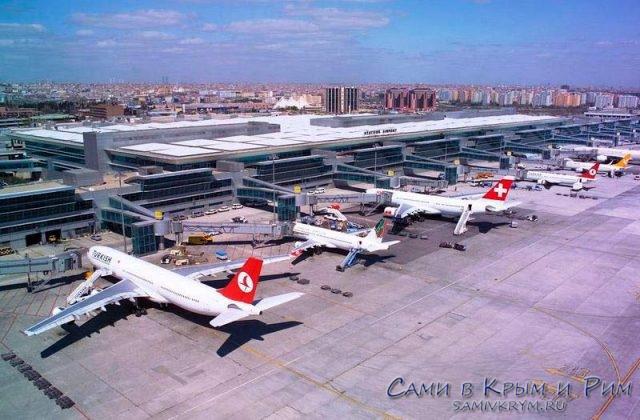 Аэропорт-Ататюрка-вид-сверху