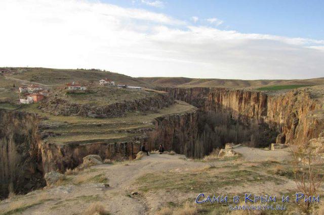 Долина Ихлара сверху
