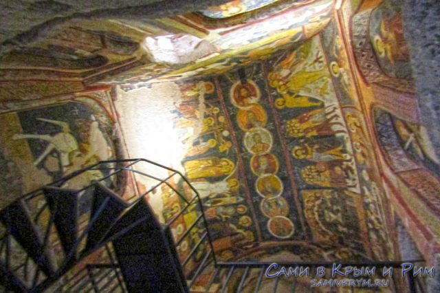 Фрески в церкви Святого Иоанна