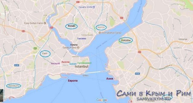 Карта-районов