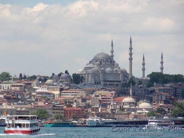 Мечеть-султана-Сулеймана-в-Стамбуле