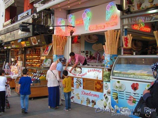 Мороженное-в-Стамбуле