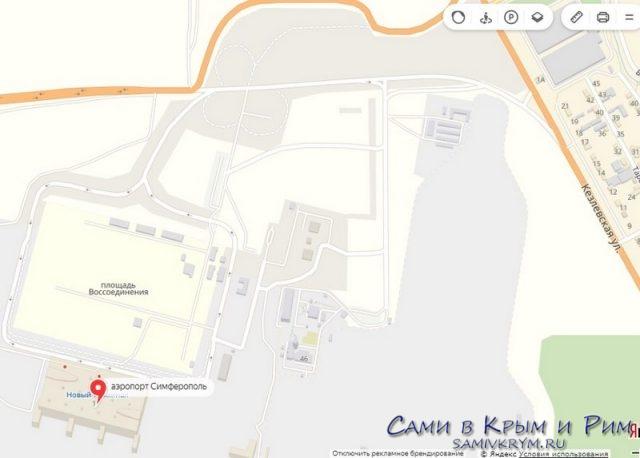 Новый терминал на Яндекс картах
