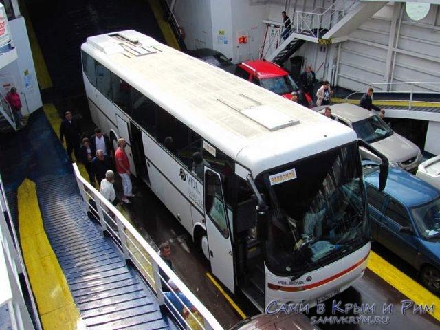 Перевозка-автобусов-на-пароме