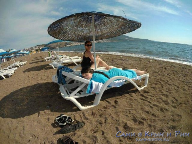 Пляж-Дикили-Турция