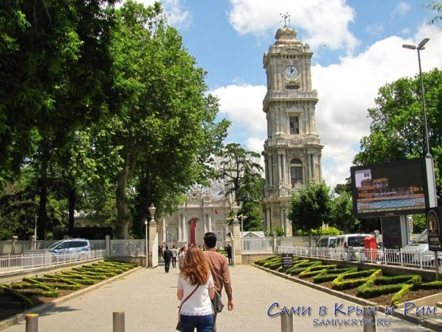 Подходим-ко-дворцу-в-Стамбуле