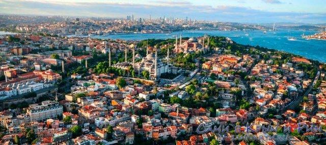 Стамбул-вид-сверху