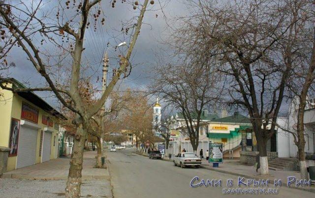 Судак-центр-города