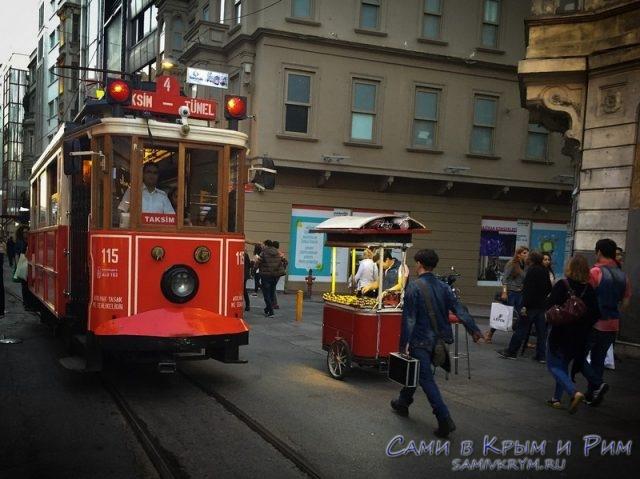 Трамвай-на-Таксим
