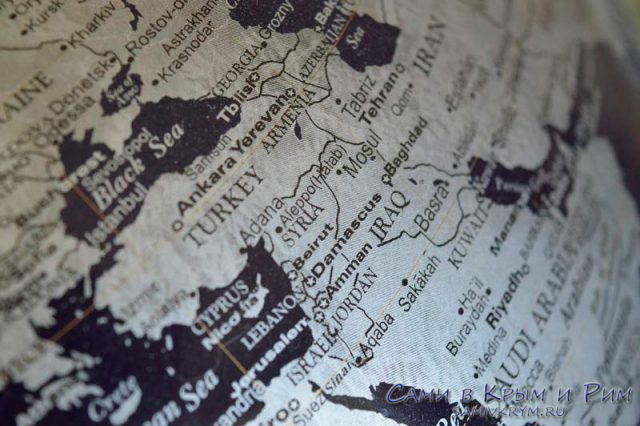 Турция-на-карте