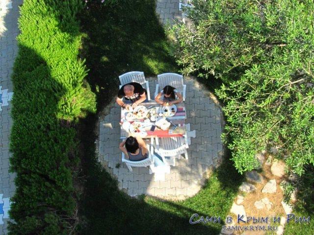 Завтрак-а-курортном-отеле-Турции