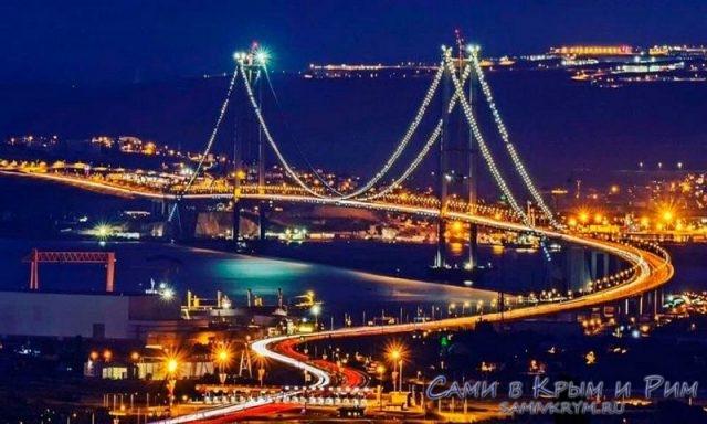 мост-Осман-Гази-ночью