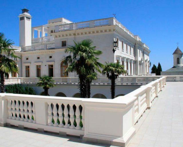 Белоснежный-Ливадийский-дворец
