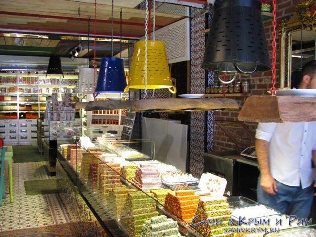 Магазины с пахловой