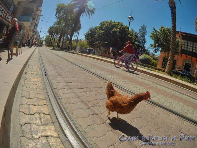Пешеходы в Анталии