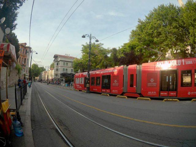 Трамваи-Стамбула