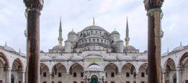 Вид-на-Голубую-мечеть-со-входа