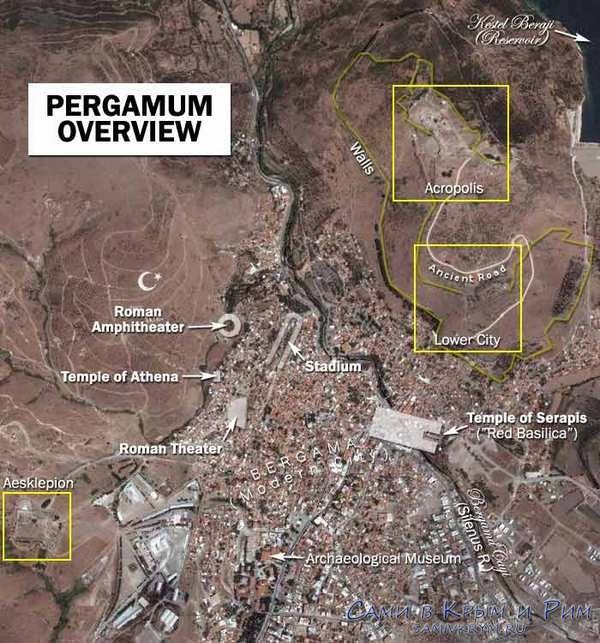 Главные античные достопримечательности Пергамона