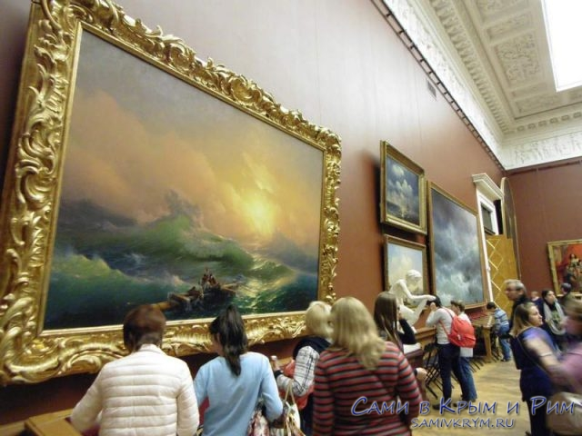Картина Девятый Вал в Петербурге