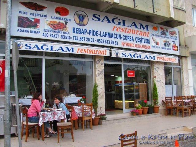 Лучший ресторан Бергама