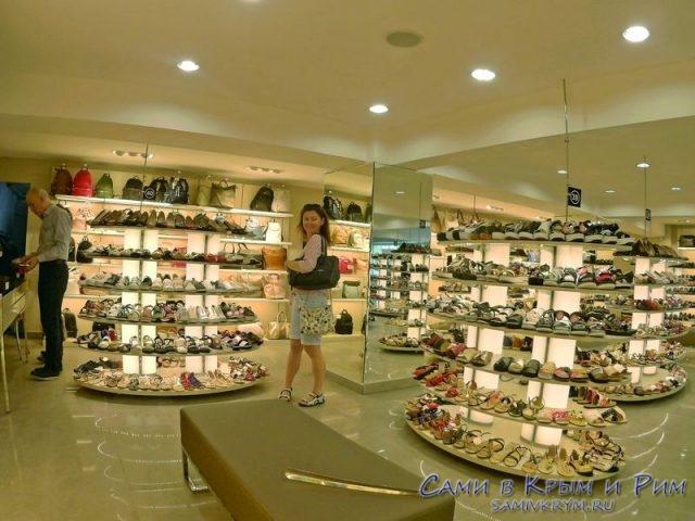 Магазин-обуви в Стамбуле