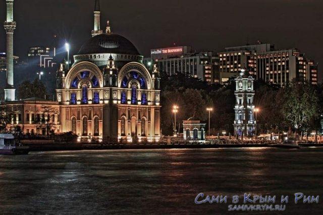 Ночные виды Стамбула